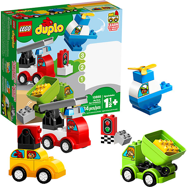 LEGO 10886 I MIEI PRIMI VEICOLI DUPLO