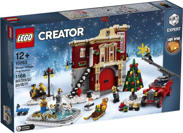 LEGO 10263 CASERMA DEI POMPIERI DEL VILLAGGIO INVERNALE CREATOR