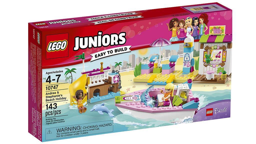 LEGO 10747 VACANZE AL MARE JUNIORS
