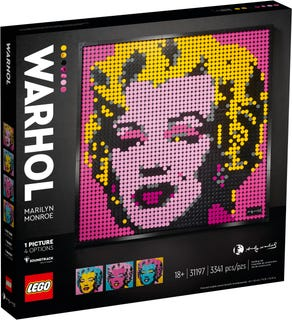 LEGO 31197 ANDY WARHOL'S MARYLIN MONROE ART
