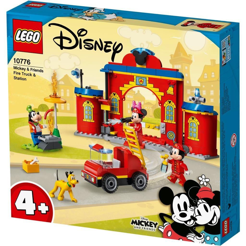 LEGO 10776 AUTOPOMPA E CASERMA DI TOPOLINO E I SUOI AMICI DISNEY