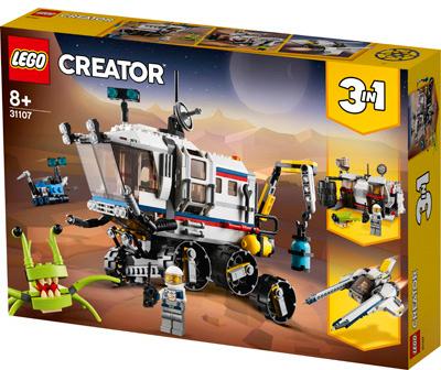 LEGO 31107 IL ROVER DI ESPLORAZIONE SPAZIALE CREATOR