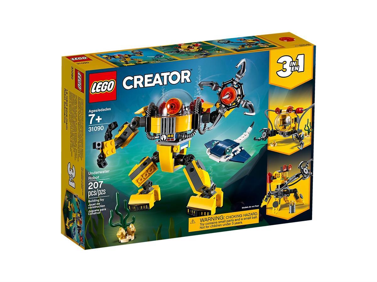 LEGO 31090 ROBOT SOTTOMARINO CREATOR