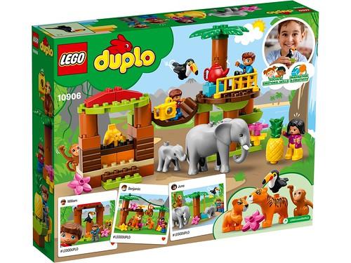 LEGO 10906 ISOLA TROPICALE DUPLO