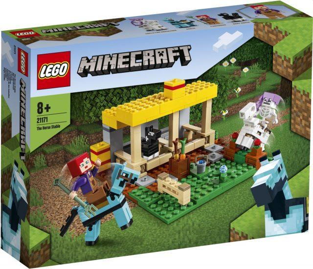 LEGO 21171 LA SCUDERIA  MINECRAFT