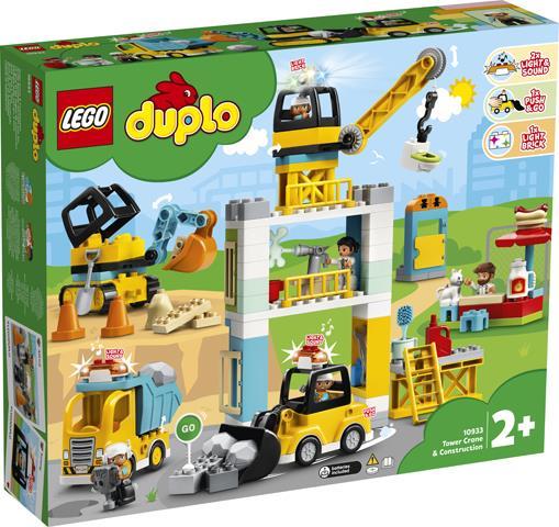 LEGO 10933 CANTIERE EDILE CON GRU A TORRE DUPLO