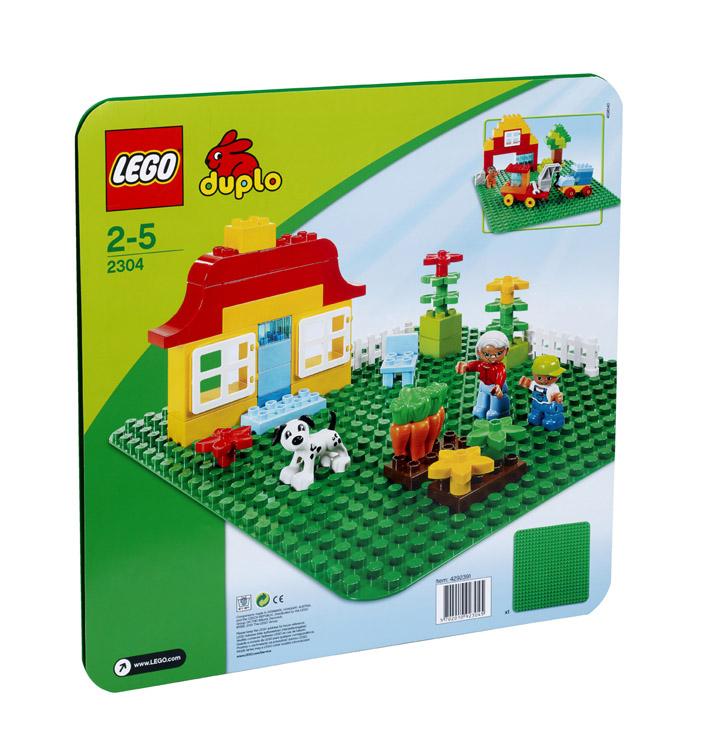 LEGO 2304 BASE VERDE DUPLO