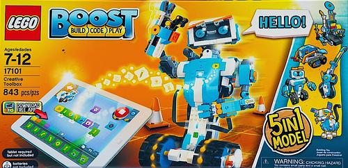 LEGO 17101 TOOLBOX CREATIVA LEGO BOOST
