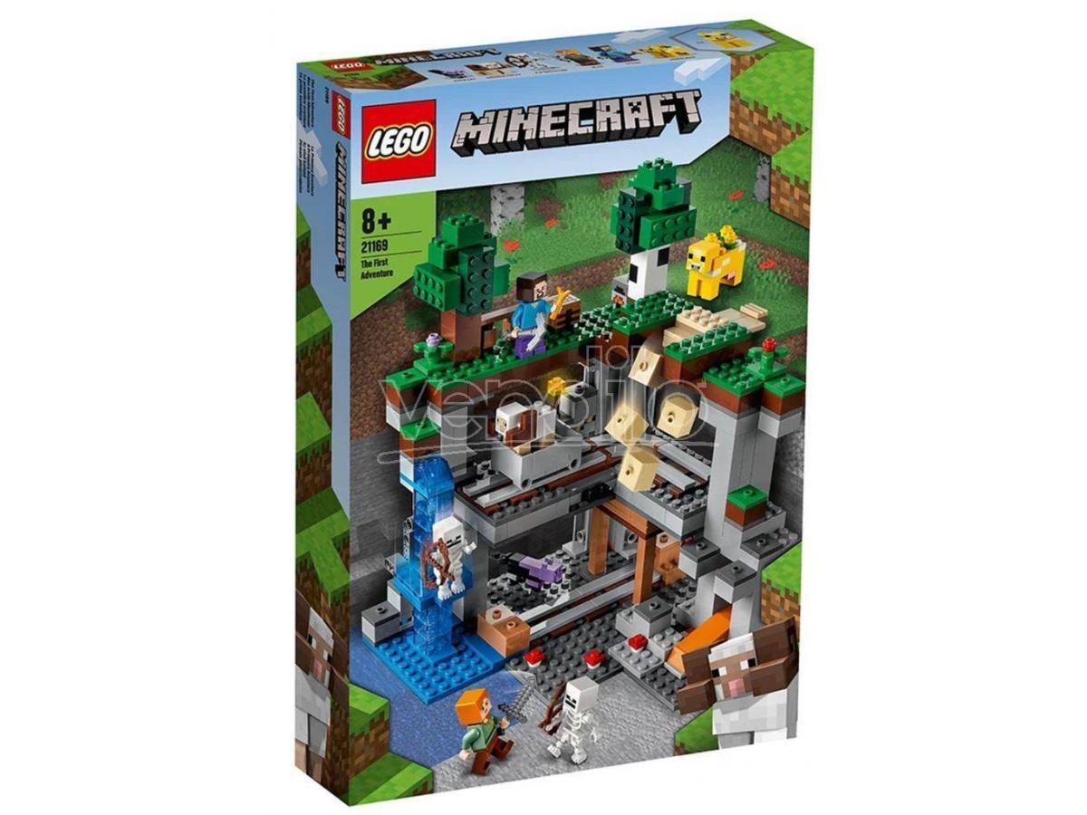 LEGO 21169 LA PRIMA AVVENTURA MINECRAFT