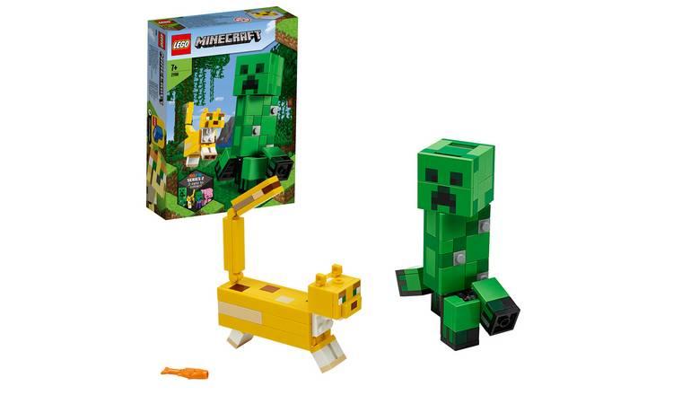 LEGO 21156 MAXI FIGURE CREEPER E GATTOPARDO MINECRAFT