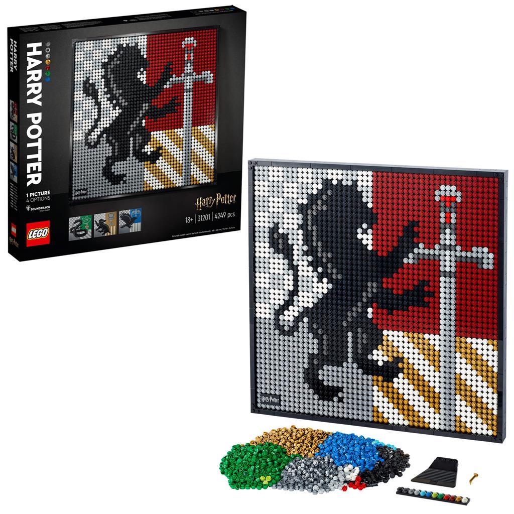 LEGO 31201 HARRY POTTER HOGWARTS CREST ART