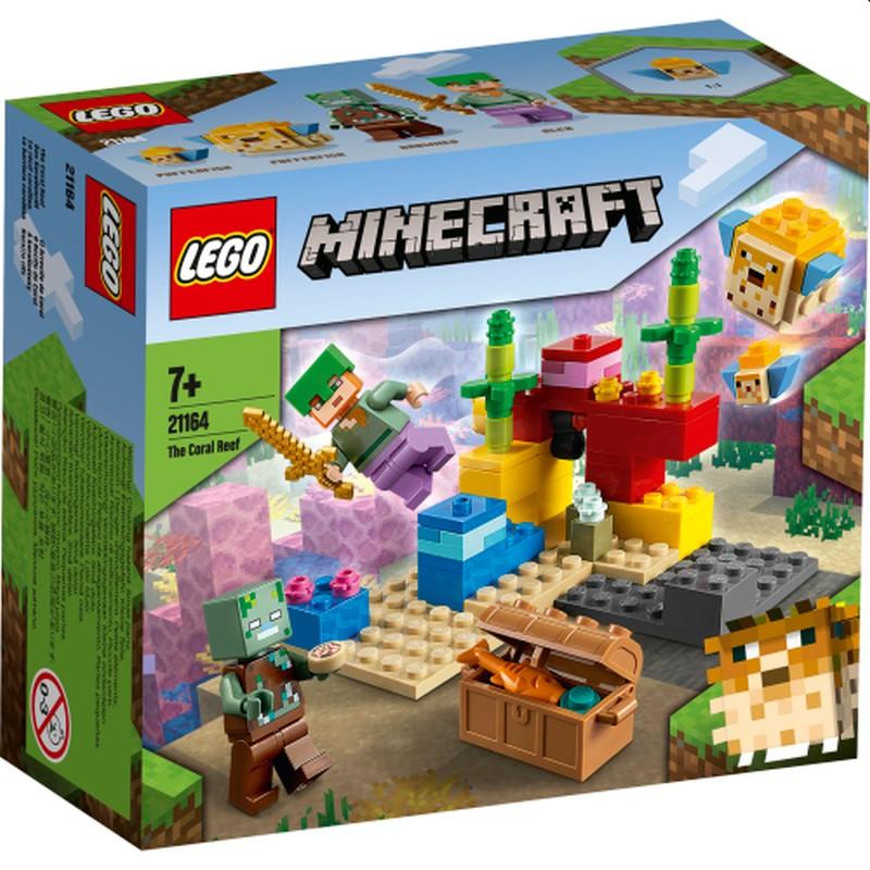LEGO 21164 LA BARRIERA CORALLINA MINECRAFT