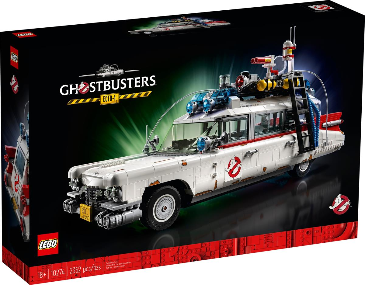 LEGO 10274 ECTO-1 GHOSTBUSTERS CEATOR