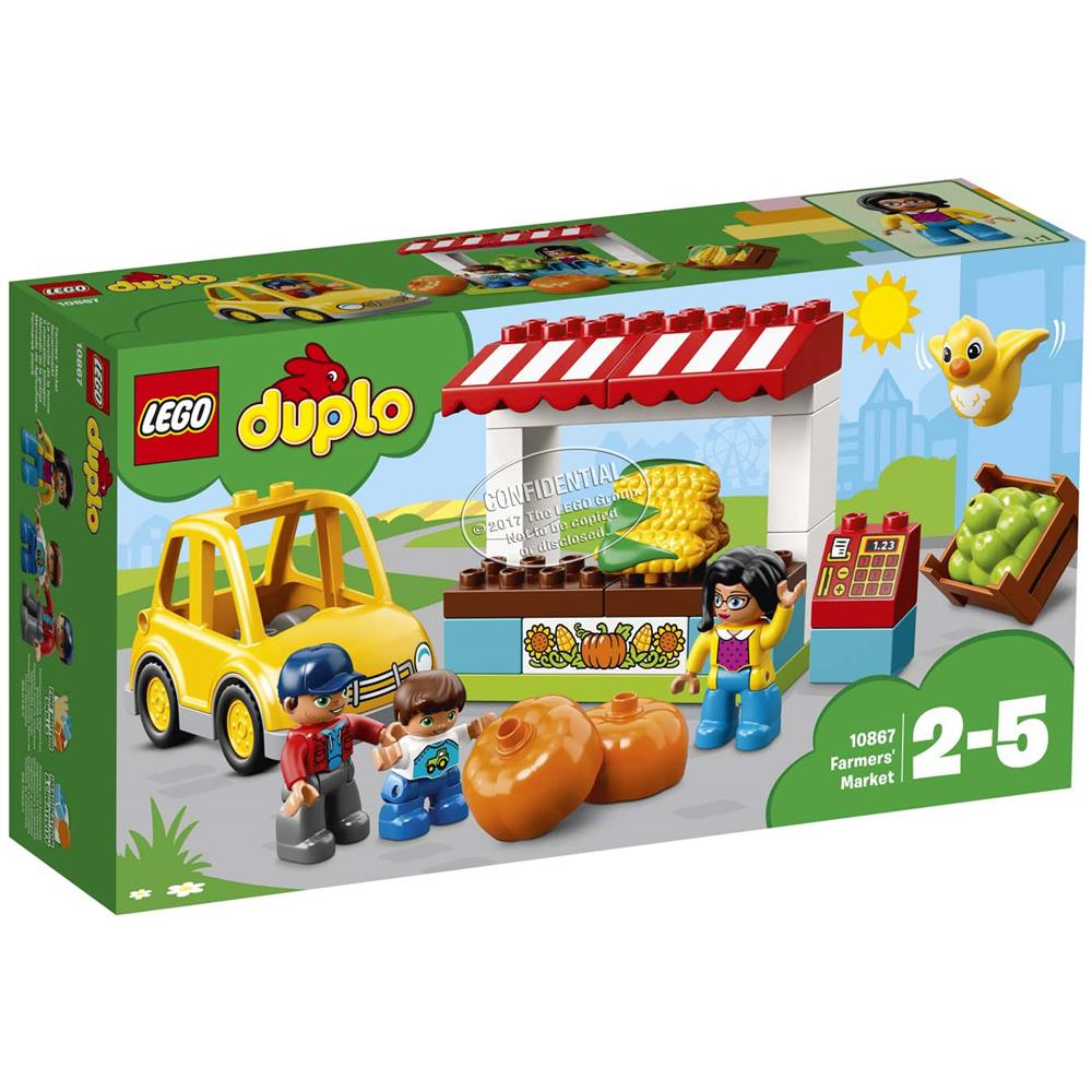 LEGO 10867 IL MERCATINO BIOLOGICO DUPLO