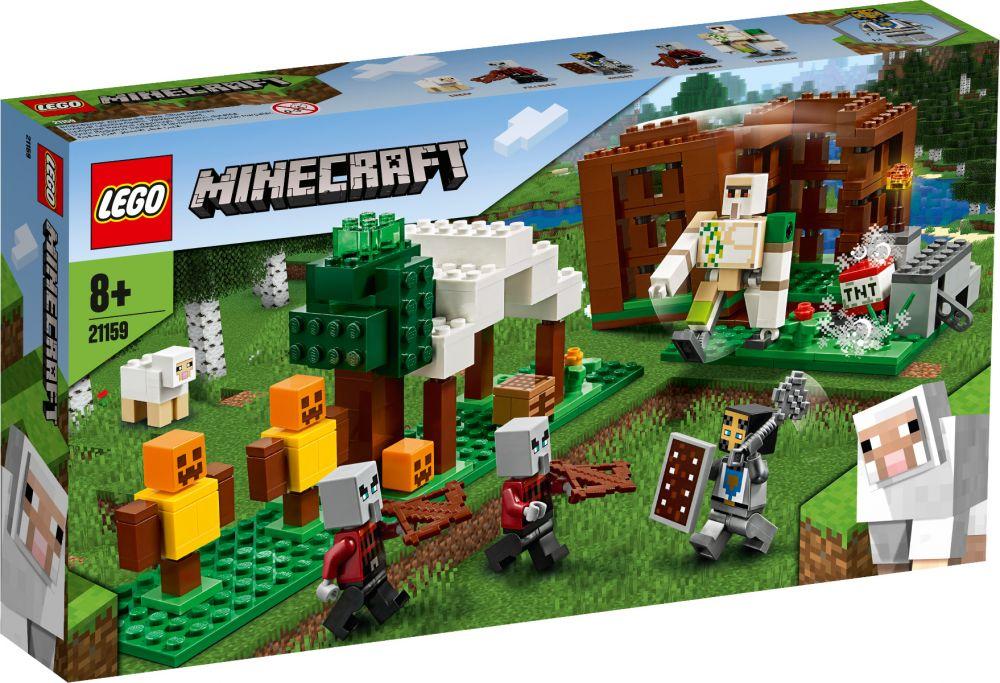 LEGO 21159 L'AVAMPOSTO DEL SACCHEGGIATORE MINECRAFT