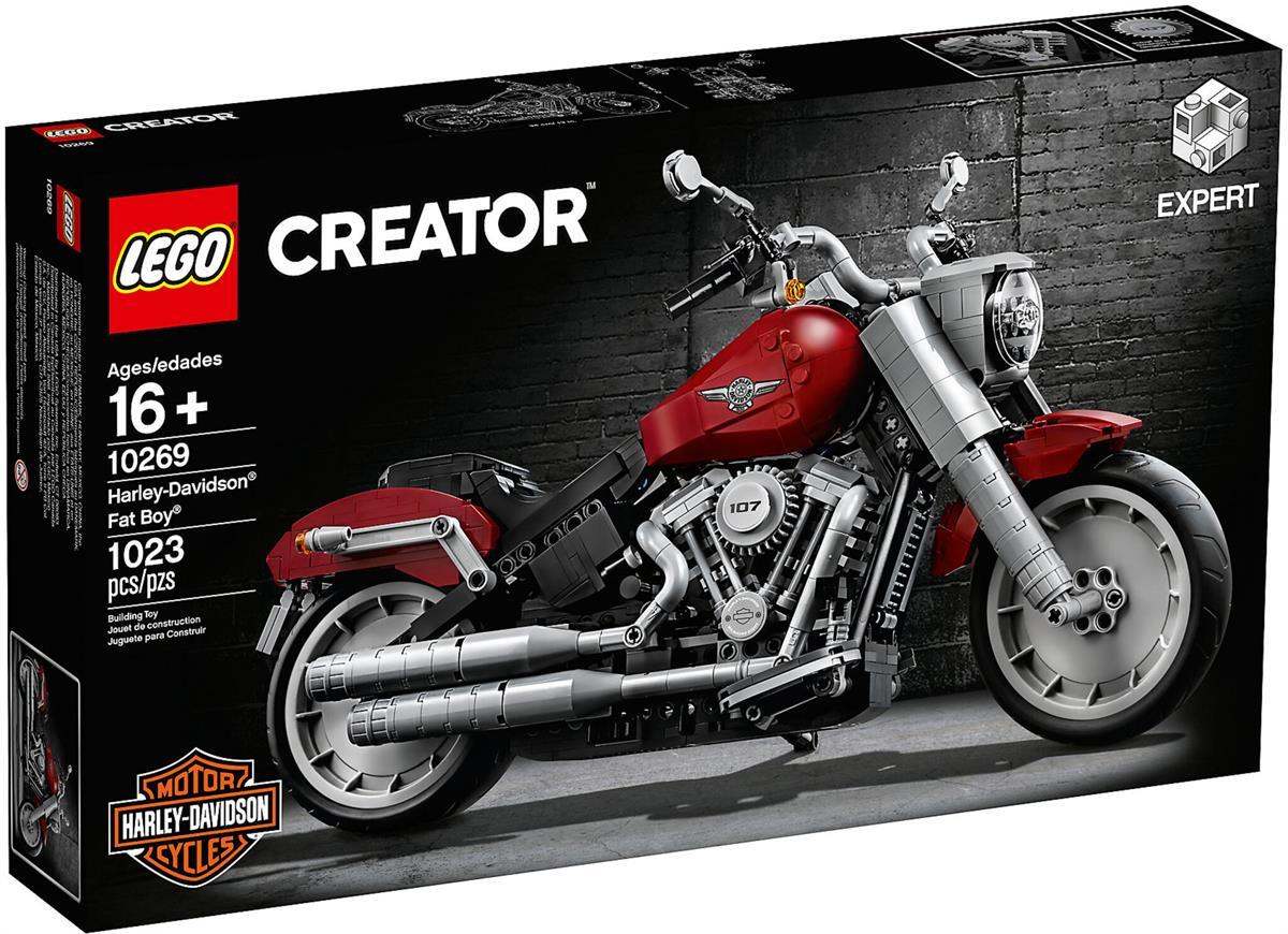 LEGO 10269 HARLEY DAVIDSON FAT BOY CREATOR