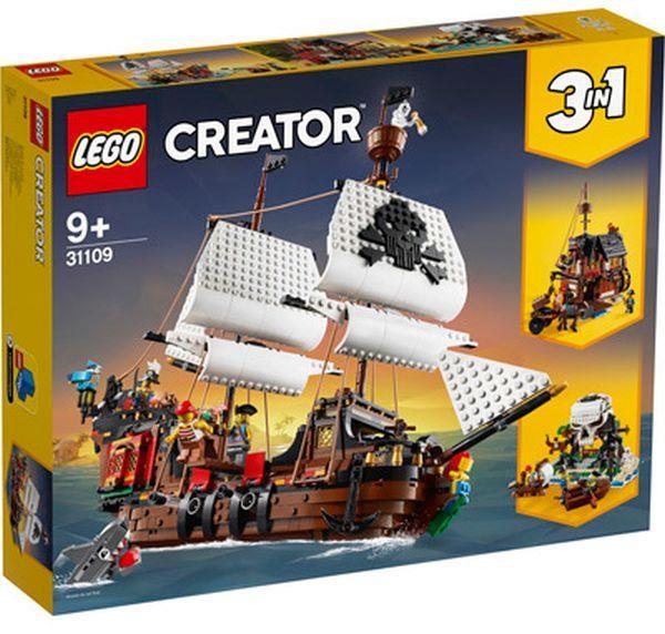LEGO 31109 GALEONE DEI PIRATI CREATOR