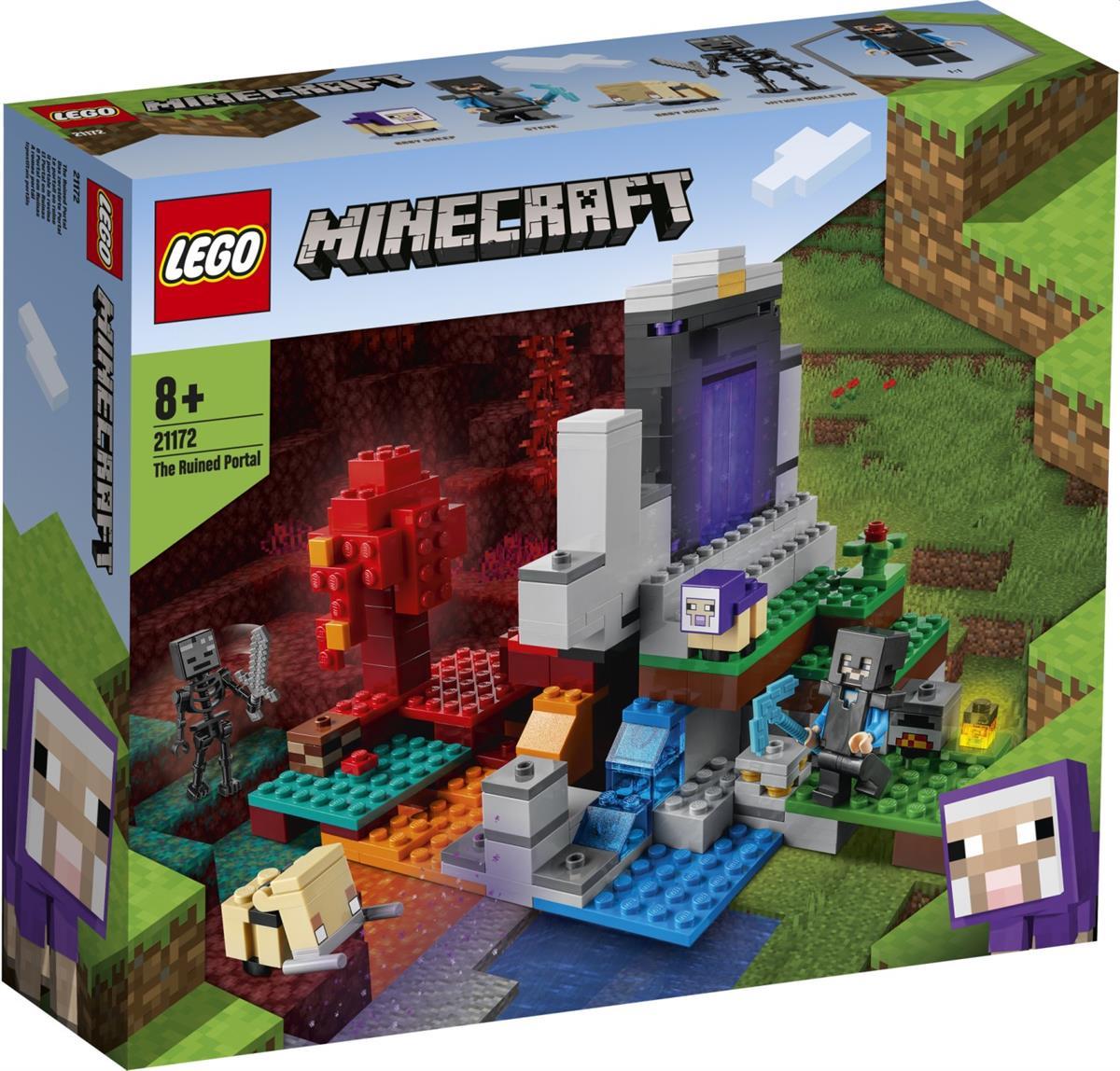 LEGO 21172 IL PORTALE IN ROVINA MINECRAFT