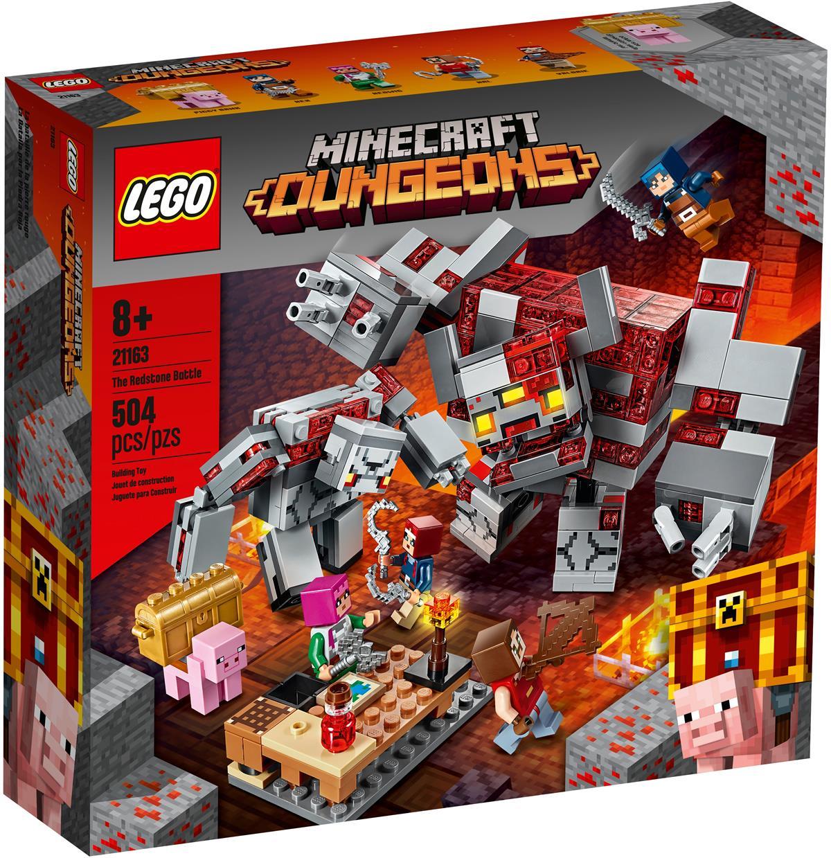 LEGO 21163 LA BATTAGLIA DELLA PIETRAROSSA MINECRAFT