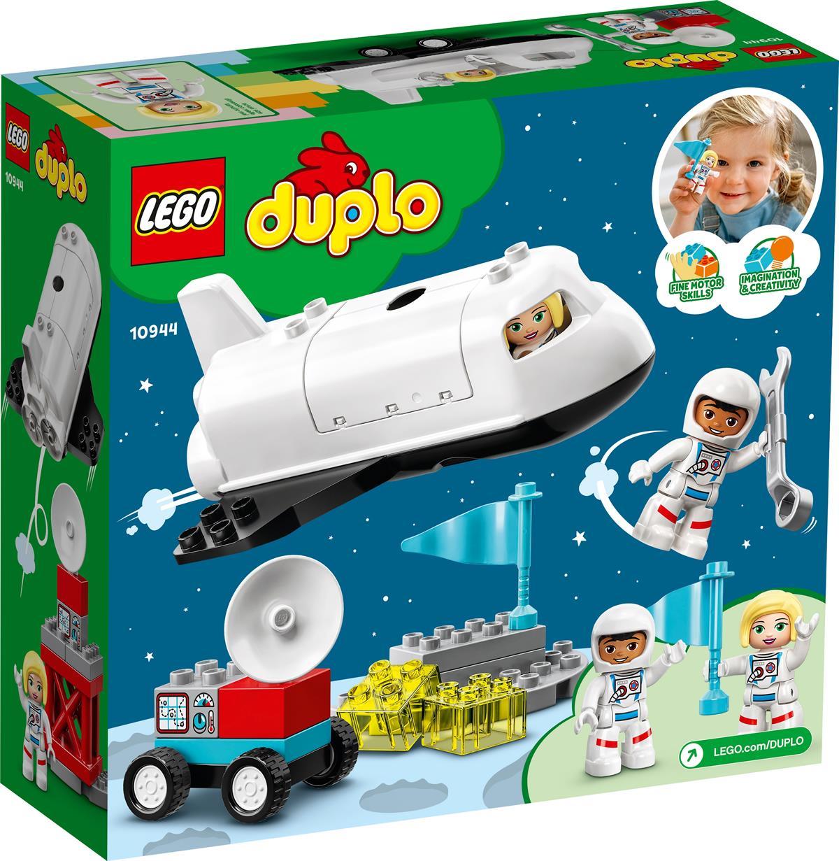 LEGO 10944 MISSIONE DELLO SPACE SHUTTLE DUPLO