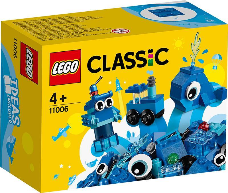 LEGO 11006 MATTONCINI BLU CREATIVI CLASSIC
