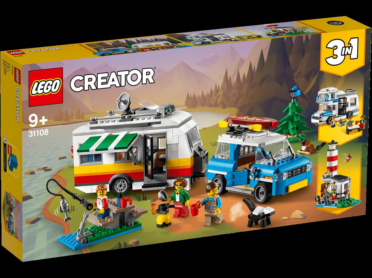 LEGO 31108 VACANZE IN ROULOTTE CREATOR