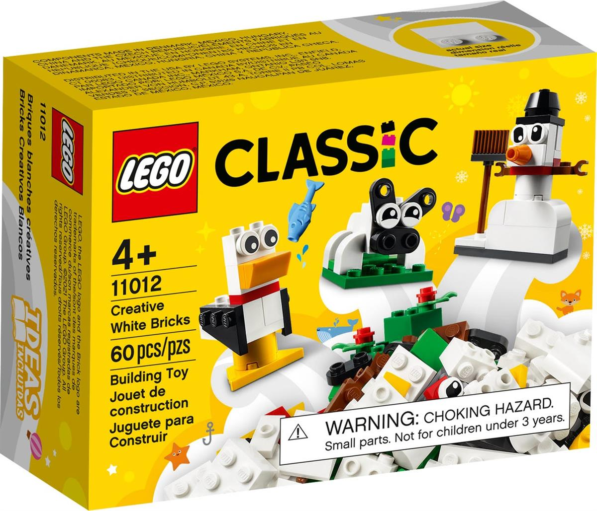 LEGO 11012 MATTONCINI BIANCHI CREATIVI CREATOR