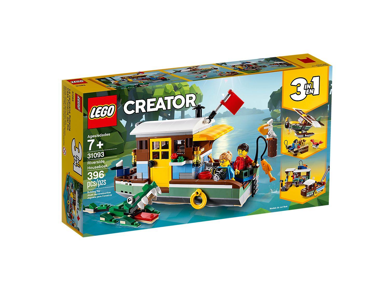 LEGO 31093 CASA GALLEGGIANTE CREATOR
