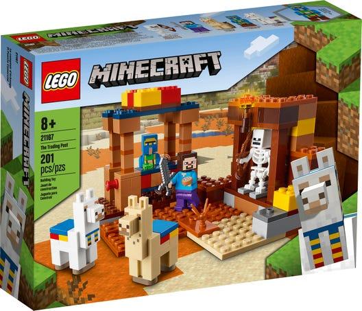 LEGO 21167 IL TRADING POST MINECRAFT