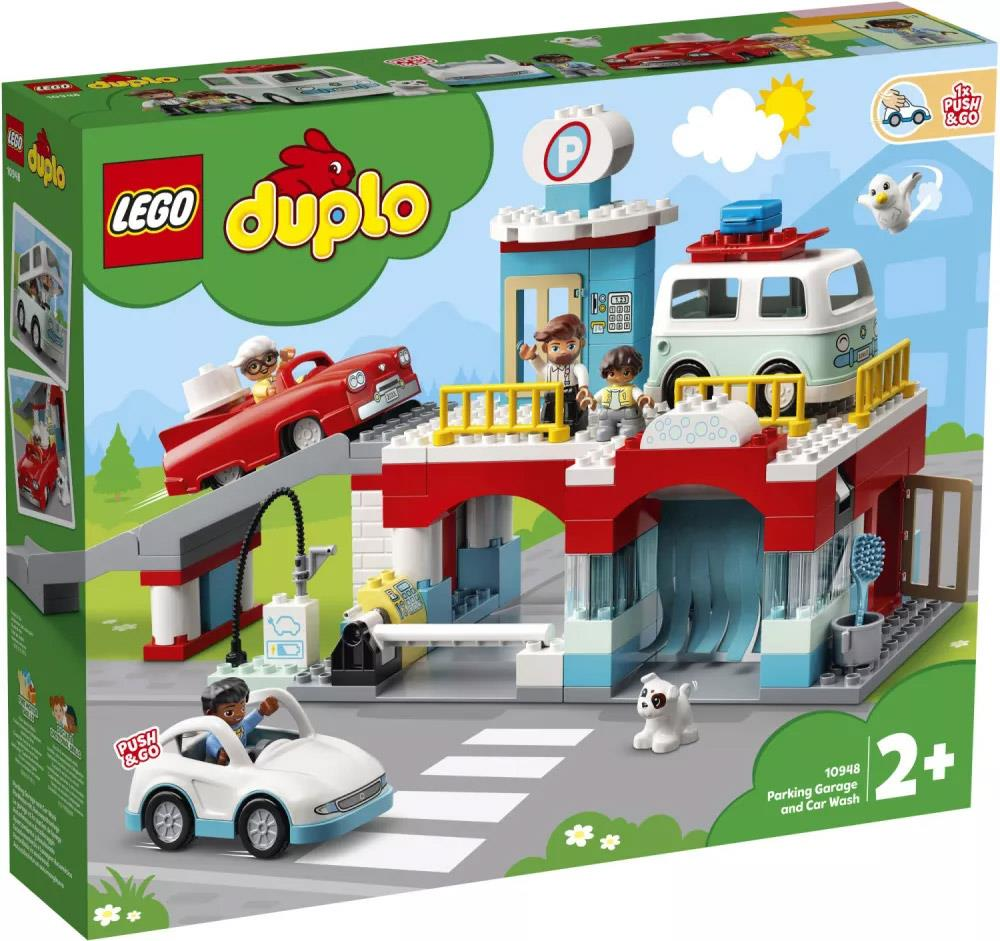 LEGO 10948 AUTORIMESSA E LAVAGGIO DUPLO