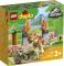 LEGO 10939 FUGA DEL T-REX E DEL TRICERATOPO DUPLO