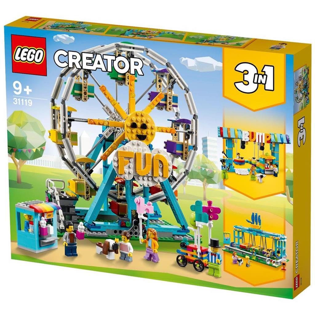 LEGO 31119 RUOTA PANORAMICA CREATOR