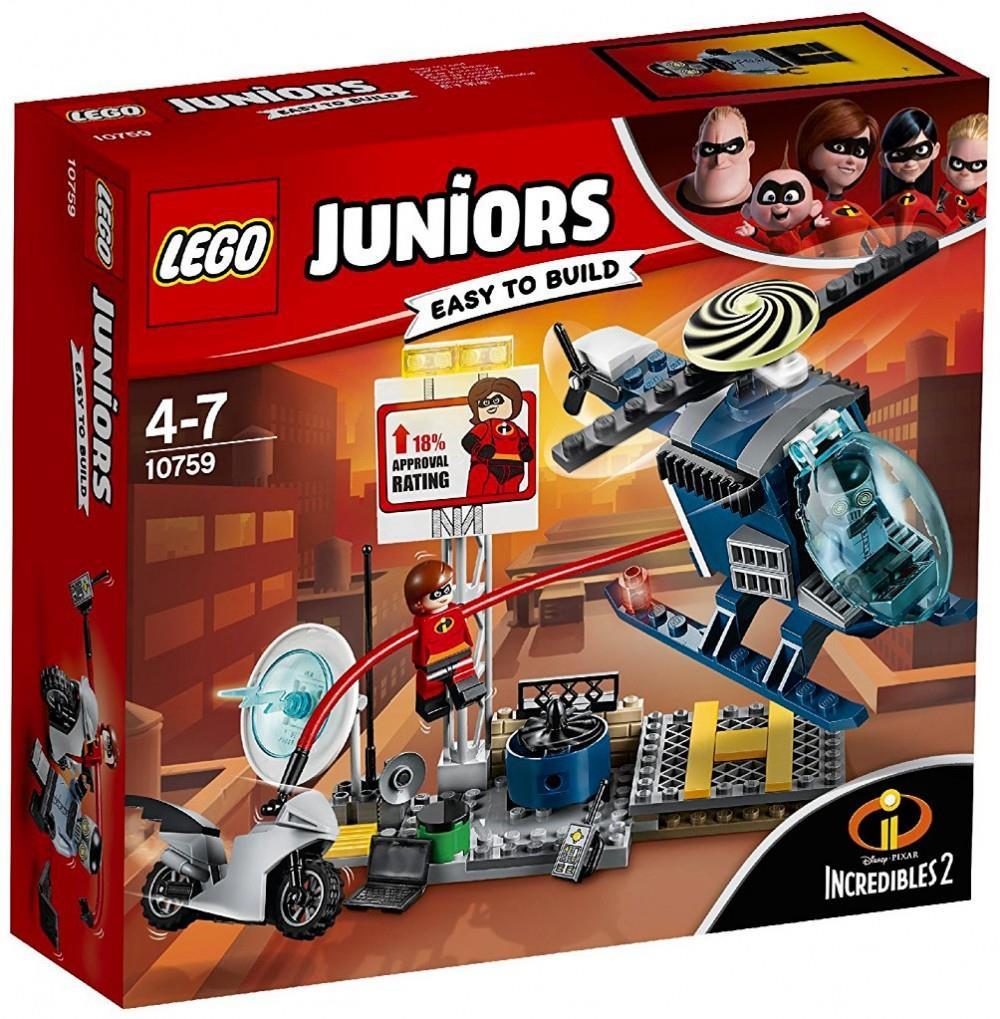 LEGO 10759 INSEGUIMENTO SUL TETTO DI ELASTIGIRL JUNIORS