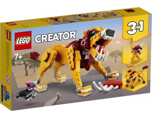 LEGO 31112 LEONE SELVATICO CREATOR