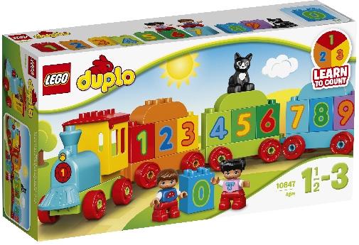 LEGO 10847 IL TRENO DEI NUMERI DUPLO