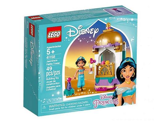 LEGO 41158 LA PICCOLA TORRE DI JASMINE DISNEY PRINCESS