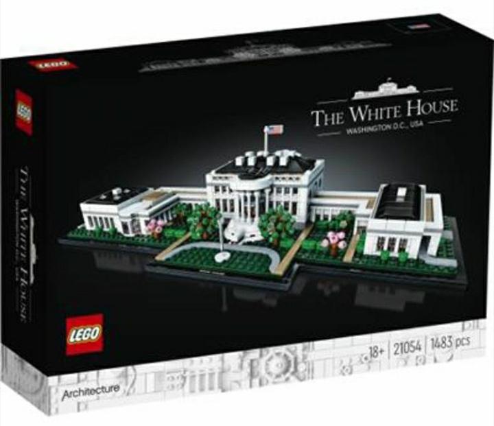 LEGO 21054 LA CASA BIANCA ARCHITECTURE