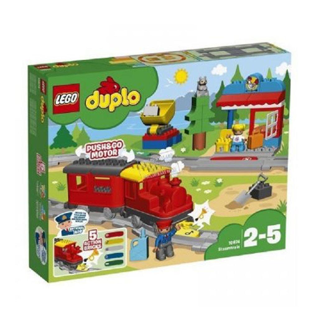 LEGO 10874 TRENO A VAPORE DUPLO