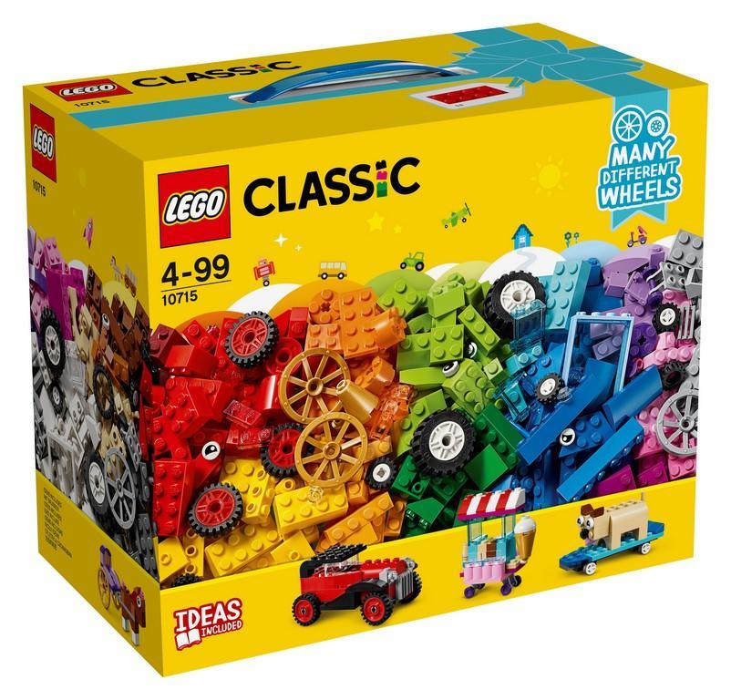 LEGO 10715 MATTONCINI SU RUOTE CLASSIC