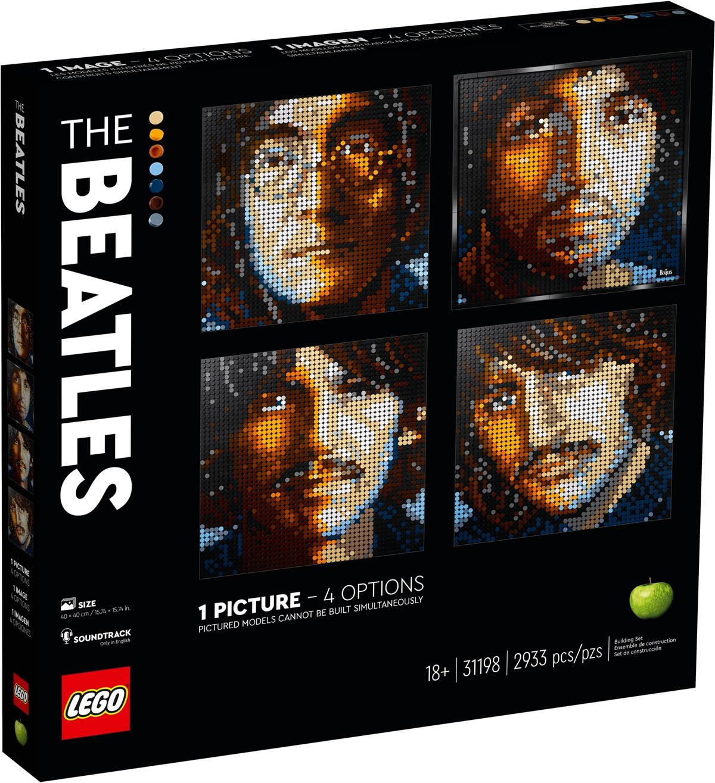 LEGO 31198 THE BEATLES ART
