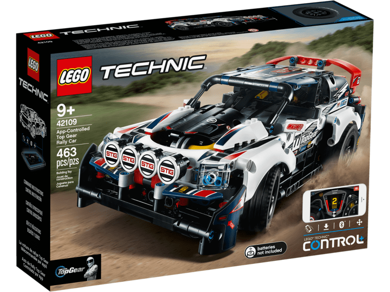 LEGO 42109 AUTO DA RALLY TOP GEAR TELECOMANDATA TECHNIC