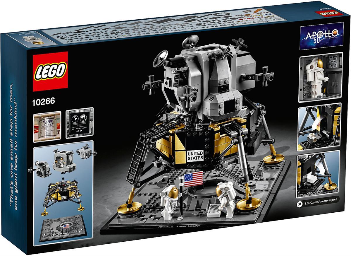 LEGO 10266 NASA APOLLO 11 LUNAR LANDER CREATOR