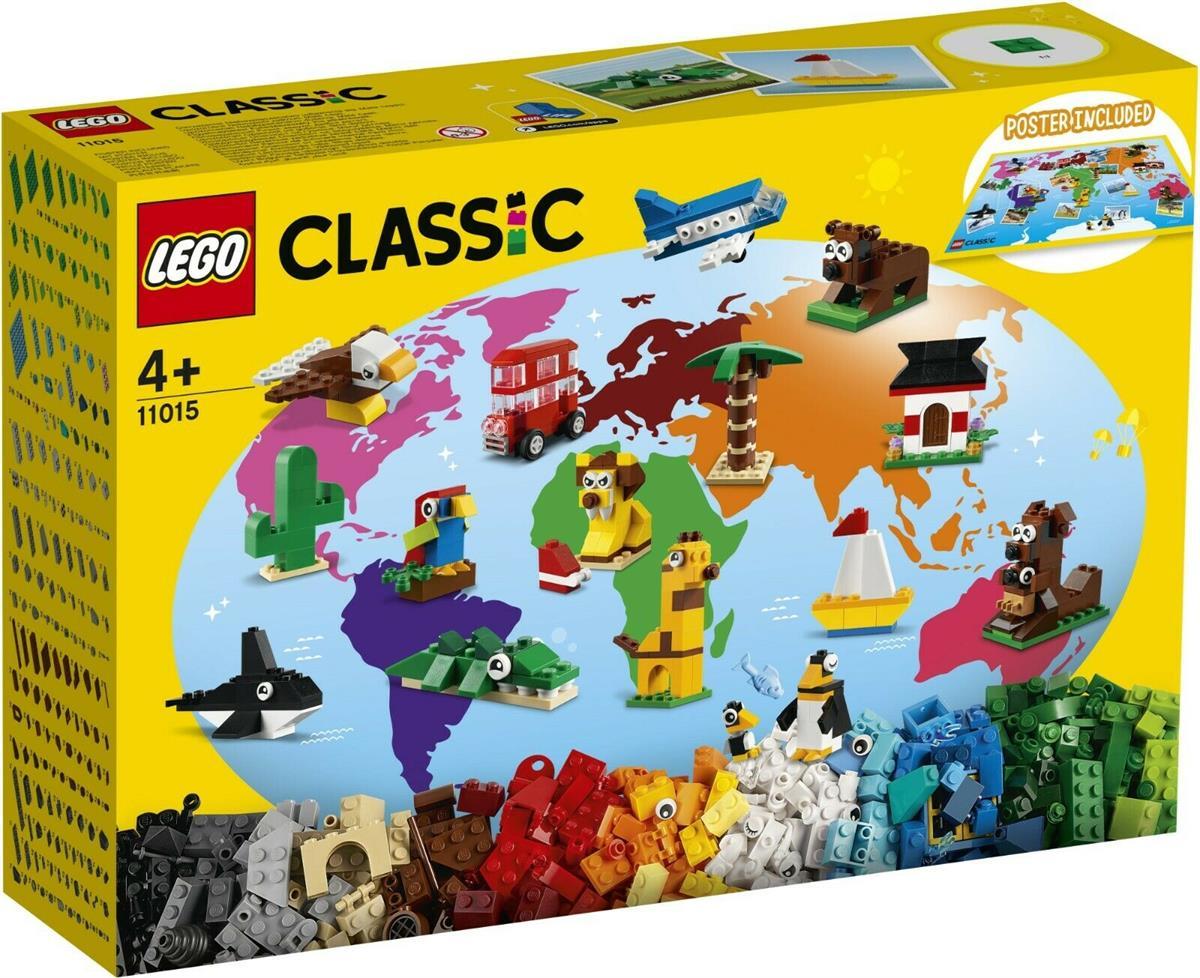 LEGO 11015 GIRO DEL MONDO CLASSIC