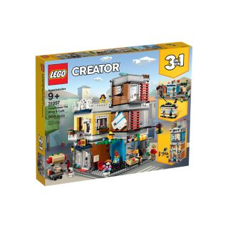 LEGO 31097 NEGOZIO DEGLI ANIMALI E CAFE' CREATOR
