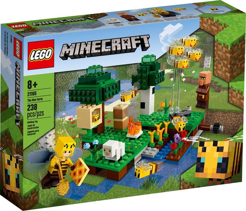 LEGO 21165 LA FATTORIA DELLE APIMINECRAFT