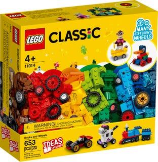 LEGO 11014 MATTONCINI E RUOTE CRATOR