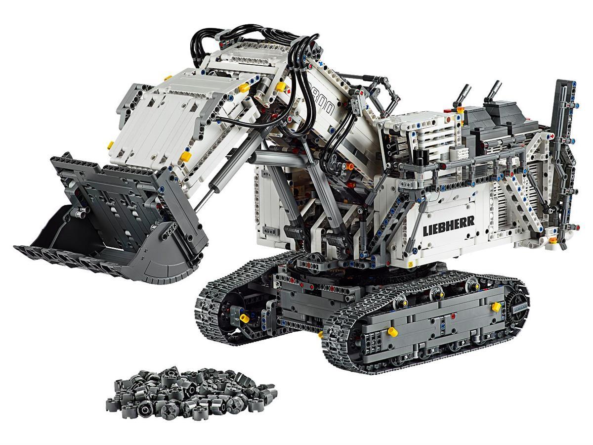 LEGO 42100 ESCAVATORE LIEBHERR R 9800 TECHNIC