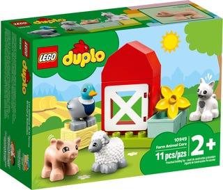 LEGO 10949 GLI ANIMALI DELLA FATTORIA DUPLO