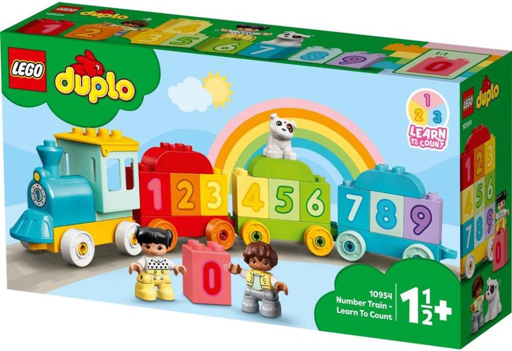 LEGO 10954 TRENO DEI NUMERI IMPARIAMO A CONTARE DUPLO