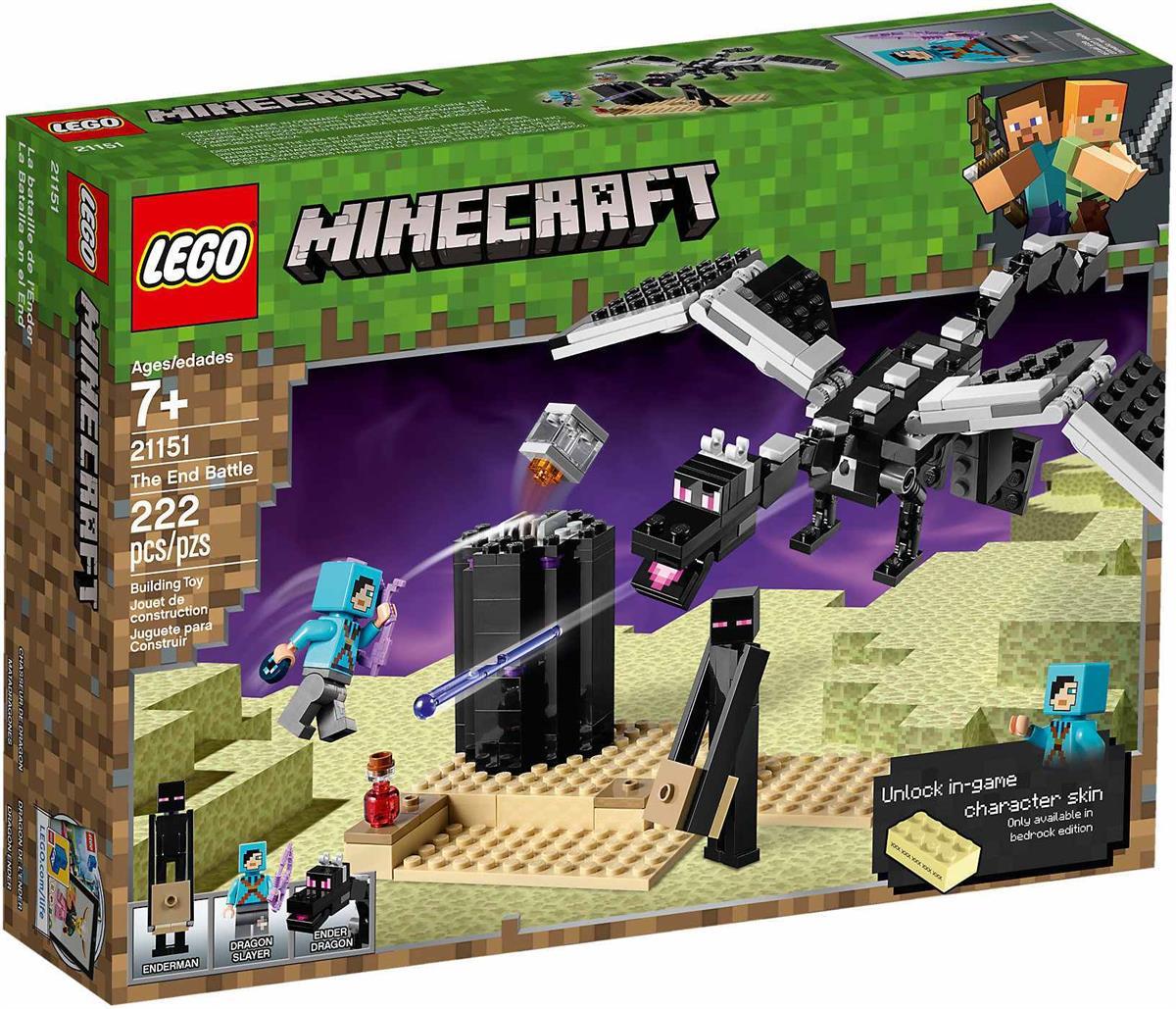 LEGO 21151 LA BATTAGLIA DELL'END MINECRAFT